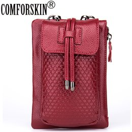 H Case Australia - COMFORSKIN Famous Brand H Style Women Mobile Phone Bags iPhone Case 2017 European and American Mini Design Ladies Messenger Bag