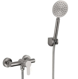 Shower Control Valves UK - Free shipping Bathroom Mixer Bath Tub 304 stainless steel Mixing Control Valve Wall Mounted Shower Faucet concealed faucet IS512
