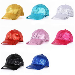 Dancer caps online shopping - Hip Hop Fashion Snapback Hat Dancer Stage  Sequin Party Baseball Cap e9f4d14626f1