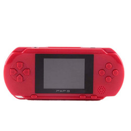 16 bit portable game consoles 2019 - Hot selling Portable 16 Bit PXP3 Handheld Game Player Video Game Console with AV Cable+2 Game Cards Classic Child Games