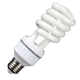Color Energy Saving Bulb NZ - Factory direct medium and half screw energy-saving light bulb E27 screw three-color spiral energy-saving lamp Lighting Bulbs
