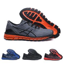 Venta al por mayor Asics Original Gel-Quantum 360 Shift Cushioning Zapatos para correr Gris Rojo Hombres Botas de calidad superior Zapatillas de deporte atléticas en venta