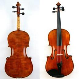 ebony models 2019 - Master 16'' Viola!Amazing Sound Stradivari Model Nice Flame Back For Pro Players cheap ebony models