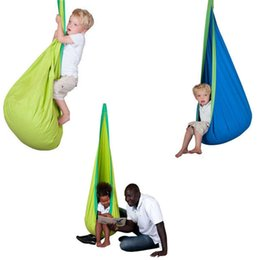 kid hammock cocoon baby pod swings child hanging seat chair nest reading nook tent blue green cotton fabric baby hammocks promotion baby hammocks suppliers   best baby hammocks manufacturers china      rh   dhgate