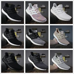 Boots shock online shopping - 2018 New Ultra Boots Shock Absorption Casual Shoes Ultraboots Stretch Fabric Boost Casual Sneakers EUR With Box