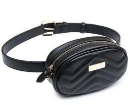 $enCountryForm.capitalKeyWord UK - new Fashion Leather Waist Bag Women Fanny Chest Bag Pack Femal Plaid Belt Bags Hip Money Travel Phone Pouch Bags