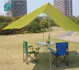 canopy fabrics 2019 - StarHome Ultralight Anti UV Outdoor Sun Shelter 3*3M Waterproof Fabric Beach Sun Shades Canopy Gazebo Garden cheap canop