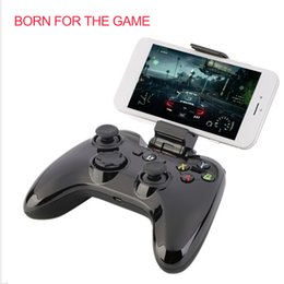 Discount wireless game controller for ipad - Original PXN-6603 Wireless Bluetooth Game Controller Joystick Handle Gamepad For iPhone 6s For iPad iPod Mini TV Gamer P