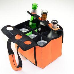 $enCountryForm.capitalKeyWord Canada - 6 Pack Neoprene Beer Bottle Holder Cooler Can Beer Beverage Water Carrier Bags Neoprene Drinks Tote Bag for Home Storage Outdoor Sports