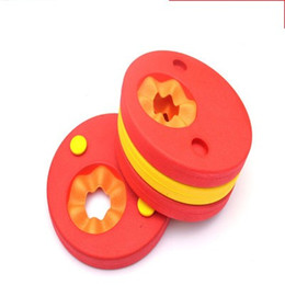 Disc free online shopping - Foam Pool Float Swimming Discs Buoy Arm Bands Floating Sleeves Free Inflatable Board Swim Exercises Circles Rings fz dd