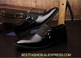 $enCountryForm.capitalKeyWord NZ - Lace-Up Men's Dress Shoes Size 38-47 Black Classic Pointed Toe Oxfords For Men Fashion Mens Business Party Shoes Formal Dress