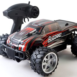 Battery Slot NZ - Cross-border dedicated remote control vehicle 2.4 G climbing cross-country 1:16 drift high-speed Bigfoot vehicle speed 20km h