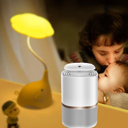 fly trap light Canada - Smart UV LED Mosquito Killer Lamp USB 5W Mosquitoes Killer Lamp Fly Zapper Bug Insect Pest Trap Light Household Mosquitoes Repelling Lamp