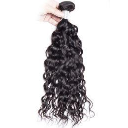 grade 7a hair weave 2019 - VIYA 7A Grade Brazilian Virgin Water Wave 4 Bundles Human Remy Hair Weave Extensions 100% Unprocessed Virgin natural wav