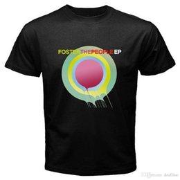 2018 Crossfit Camisetas FOSTER AS PESSOAS EP Banda de Rock dos homens T-Shirt Preta Tamanho S M L XL 2XL 3XL Impressão Tops de Verão Tees venda por atacado