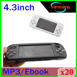 k3 camera NZ - 20PCS Handheld Game Console 32 Bit Portable Game Players TV Output Music E-book Support SFC GBA FC Games Box ZY-K3-01