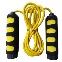 Chinese  Anti-slip Foam Jump Rope Skipping Rope for Children Age 5 to 10 Year Old (Yellow+Black) manufacturers