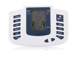 $enCountryForm.capitalKeyWord Canada - New Electrical Stimulator Full Body Therapy Massager machine ,Pulse tens Acupuncture with therapy slipper+ 4pads