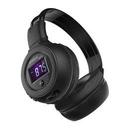Wireless Headphones Mic Blue Australia - Cheap Price Zealot B570 Bluetooth earphone Wireless Stereo Headphone Stereo Handsfree Headband Earphone With Mic, FM Radio, TF Card