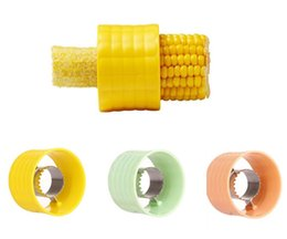 Chinese  Creative Home Gadgets Corn Stripper Cob Cutter Remove Kitchen Accessories Cooking Vegetable Tools mk638 manufacturers