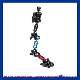 CnC alloy online shopping - CNC Lamp Arm Underwater Universal Butterfly Clip GOPRO Accessories Aluminum Alloy Portable Outdoor Travelling Light Arms Hot Sale jd ii