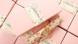 $enCountryForm.capitalKeyWord Canada - 50set Vintage Box Scroll Wedding Invitations Card Personalized Birthday Part Invitations Gift Box Free Shipping