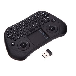 Usb Pc Laptop Remote Control UK - Tochpad Remote Control 2.4GHz Wireless Keyboard GP800 Portable 79 Keys Mouse with USB Receiver for TV box PC Laptop