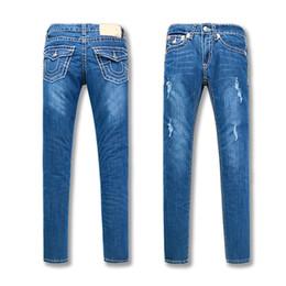 Neue Frauen True Jeans Hohe Qualität Hosen Denim Designer Dark einfarbig Gerade tr Jean Für Frauen Hosen Kostenloser Versand