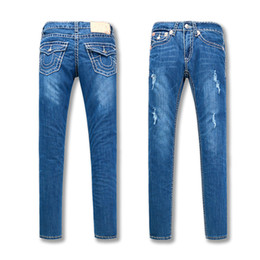 Pantaloni nuovi di alta qualità dei jeans delle donne nuovi Denim del  progettista di colore solido 234d7171b2b