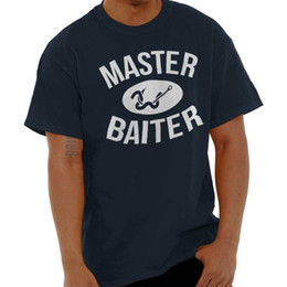 China Master Baiter Funny Shirt | Fish Gift Idea Sporting Good Lure T Shirt Funny free shipping Unisex Casual tee gift supplier lure white red suppliers