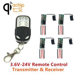 $enCountryForm.capitalKeyWord Australia - QIACHIP 433MHz Remote Control Switch DC 5V 12V Mini LED Light Receiver Relay with Transmitter Remote Control Smart Home