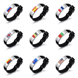 Reasonable 2018 World Cup Flag Silicone Bracelet Arm Sleeve For Mens To Shows National Sports Accessories Arm Warmers