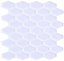 $enCountryForm.capitalKeyWord NZ - Peel and Stick Backsplash for Kitchen, Self-adhesive Wall Tile(Pure White, 4 Sheets)