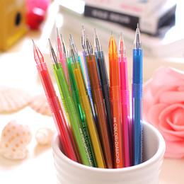 rainbow pencils 2018 - Special offer rainbow fluorescent pen fluorescent paint Office School Supplies Pens Pencils Writing Markers Highlighters