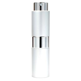 $enCountryForm.capitalKeyWord UK - 15ml Perfume bottle Retractable rotary portable aluminium perfume spray bottles glass empty atomizer Spray bottle KKA3832 1000pcs