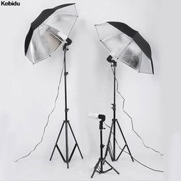 Wholesale Kebidu Flash Umbrella Bracket Studio Photography Single Head Photo Lighting Bulb Holder for Photography studio