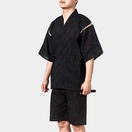31a62009b7 2018 summer couple yukata set japanese kimono traditional men   women  pajama sets soft cotton robe and pants set