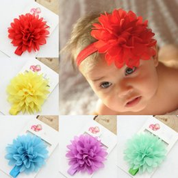 Wholesale Hot Sale Baby Girl Elastic Hairband Children Hair Wear For Kids Head Band Flower Headband Baby Hair Accessories dropshipping