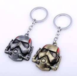 $enCountryForm.capitalKeyWord UK - Superhero Ant-Man Keychain can Drop-shipping Metal Key Rings For Gift Chaveiro Key chain Jewelry for cars