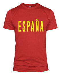 835a8ff6 España Text T Shirt Slogan Retro World Cup Russia Spain Spanish Men Women  L254Funny free shipping Unisex Casual tee gift