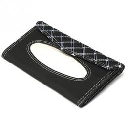 Tissue box holders online shopping - Car Visor Tissue Box Car Accessories Clipboard Tissue Boxes Napkin Holder Auto Parts