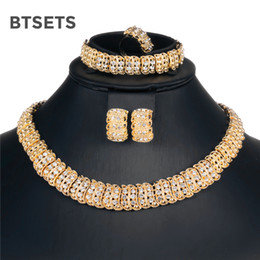 $enCountryForm.capitalKeyWord NZ - BTSETS African Beads Jewelry Set Vintage Costume Wedding Jewelry Sets For Women Silver Gold Color Indian Ethiopian Jewellery