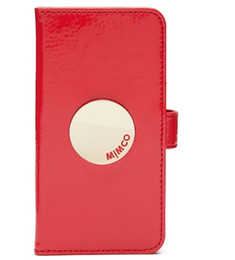 Style Lipstick NZ - MIMCO WAVER FLIP CASE FOR IPHONE 6 6S 7 8 LIPSTICK RED