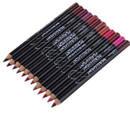 Профессиональный многофункциональный карандаш для губ длительный водонепроницаемый губ бровей косметический макияж красочные губы лайнера ручки
