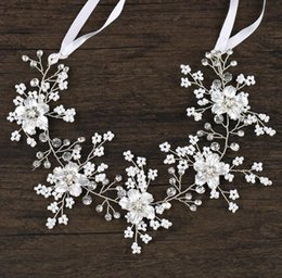 $enCountryForm.capitalKeyWord NZ - European and American high-end handmade headwear, white flowers, hair bands, bridal ornaments.
