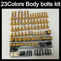 body kits for hayabusa 2019 - Fairing bolts full screw kit For SUZUKI GSXR1300 Hayabusa GSXR 1300 1996 1997 1998 1999 2000 2001 07 Body Nuts screws nu