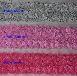 $enCountryForm.capitalKeyWord NZ - 15y 2.5 inch 4-rows chiffon rosettes lace for kids headband flower bows,diy clothing bow accessories,hair clip bow flowers