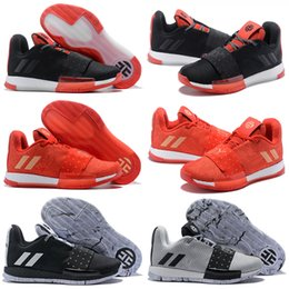 30ab43d9370 Newst Mens Harden Vol. 3 MVP Basketball Shoes Weaving Sneakers Men Red Grey  Black James Harden 3s Outdoor Trainers Sports Shoes Size 7-11.5