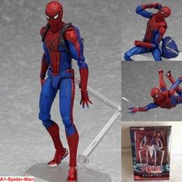"$enCountryForm.capitalKeyWord NZ - 6"" Marvel Figma Spiderman PVC Spider Man Action Hero Spider-man Figure Toy"