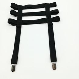 fd0c78e2f Women Sexy Harajuku punk garters belt Handmade Metal Clip Elastic Stockings  suspender three rows spandex harness waist belt
